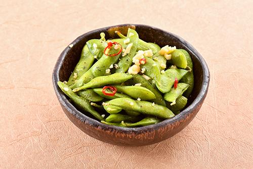 ペペロンチーノ茶豆