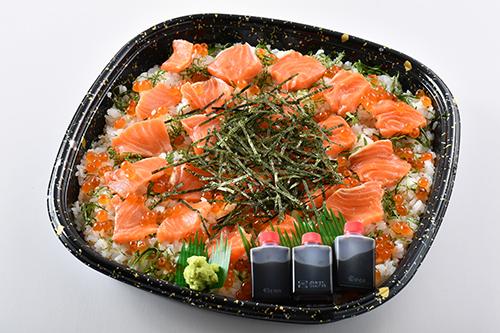 いくらサーモン寿司